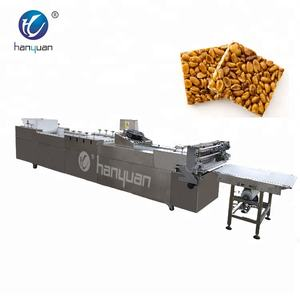 hot sale peanut chikki bar making machine