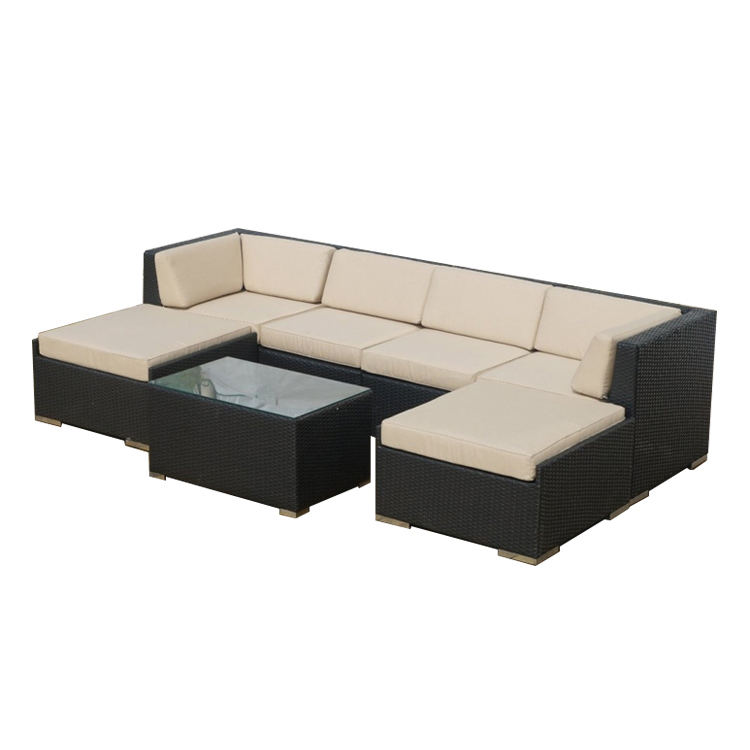 Competitive Price High Quantity outdoor rattan sofa and rattan furniture