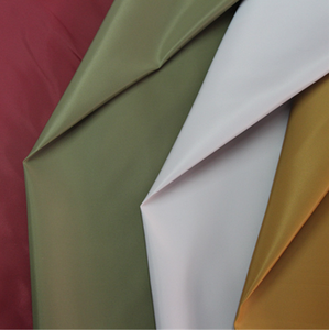 breathable pu coated ripstop nylon taffeta fabric