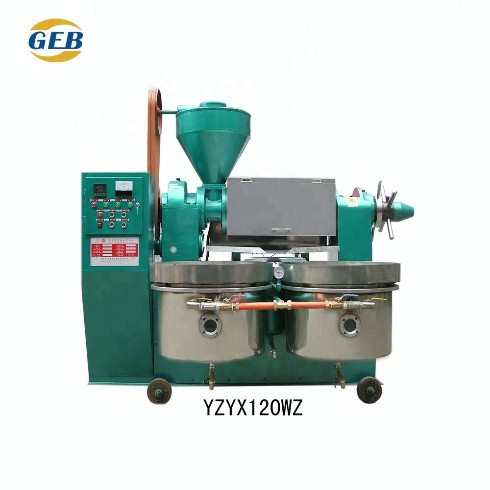 Factory Price edible screw sesame oil machine / extra virgin coconut oil / press oil