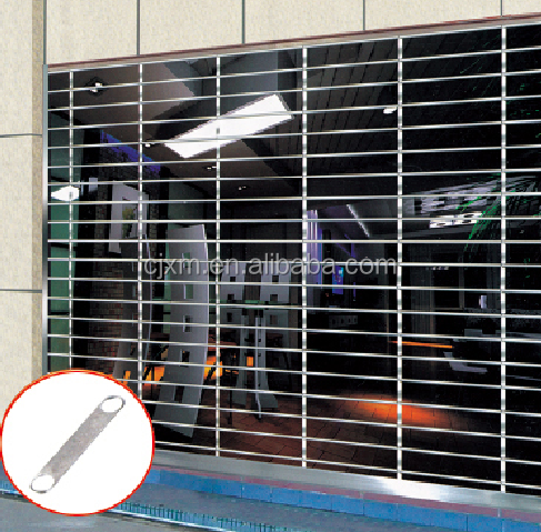 Thickness 0.6mm Exterior Garage Exterior Roll Up Shutters,Iron Door Grills