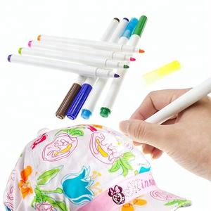 Wholesale waterproof cloth marker permanent fabric paint marker
