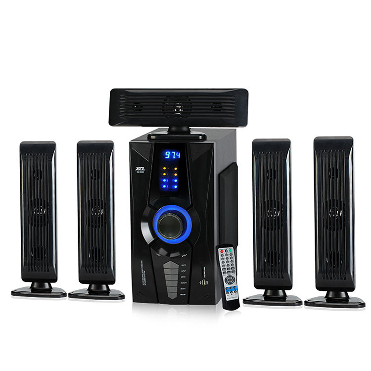 Kotak plastik home theater Surround sound 5.1 dj speaker