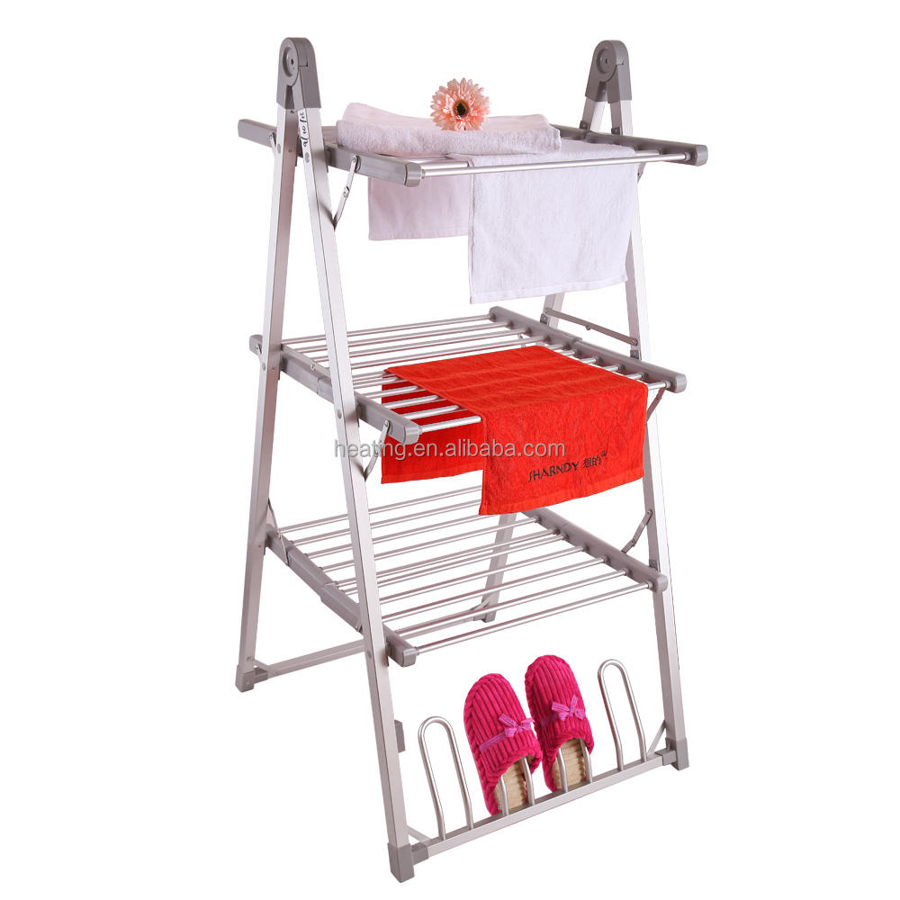 SHARNDY Electric Clothes Drying Rack, Aluminum Electric clothes Airer Dryer;3 layer electric clothes warmer