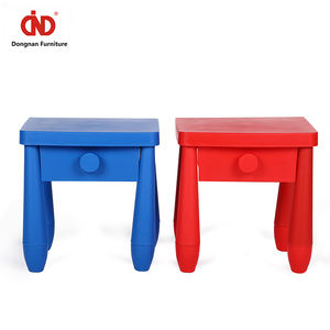 Children Adjustable Colourful Waterproof Folding Kids Study Table