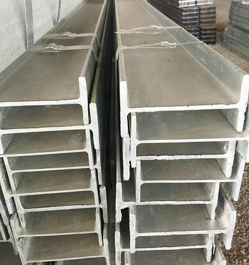 hot dipped GI IPE European standard I beam