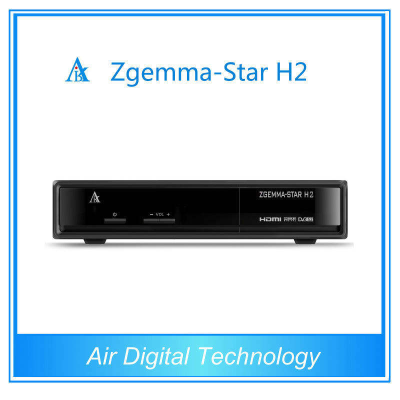 2015 neuesten produkte linux os zgemma- Star h2 ip-tv samsat digitalen satelliten-receiver youtube tv-box