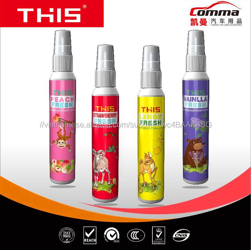 Bán buôn Trung Quốc sản phẩm thống làm mát không khí nước hoa xịt xe niềm vui nước hoa làm mát