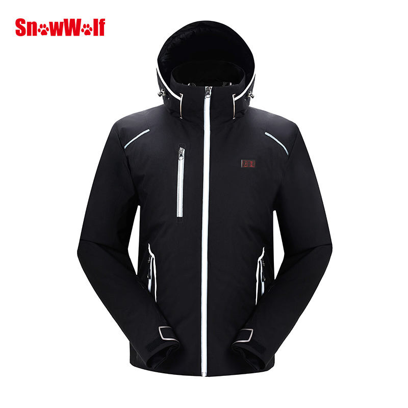 Warm Electric Ski Suit Heating Jackets For Tanks
