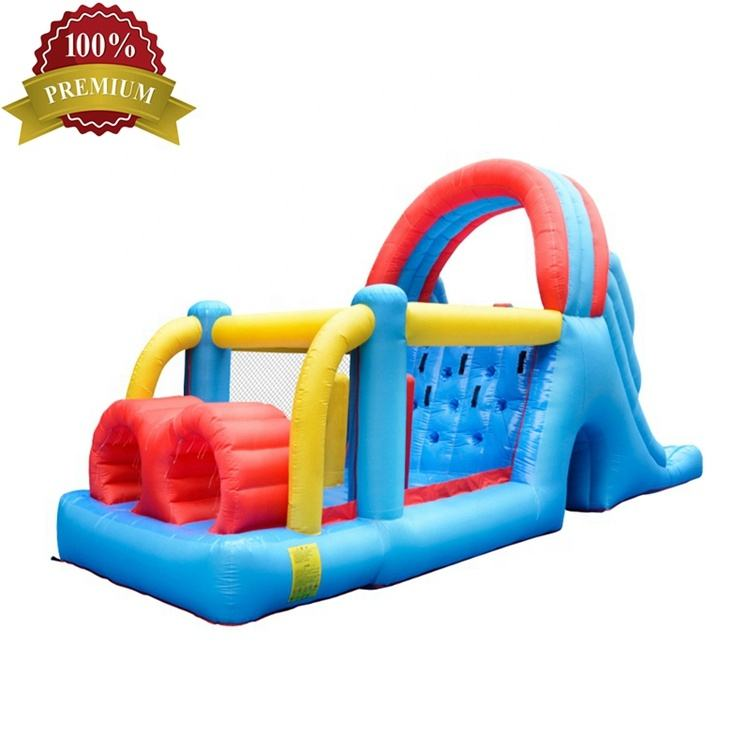 S483B Nylon NewDesign CE Certification Customized Bounce House Obstacle Course Factory from China