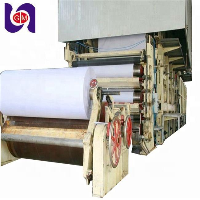 Good Speed Notebook Manufacturing Machine and Newsprint Machinery Making Machine A4 paper production line