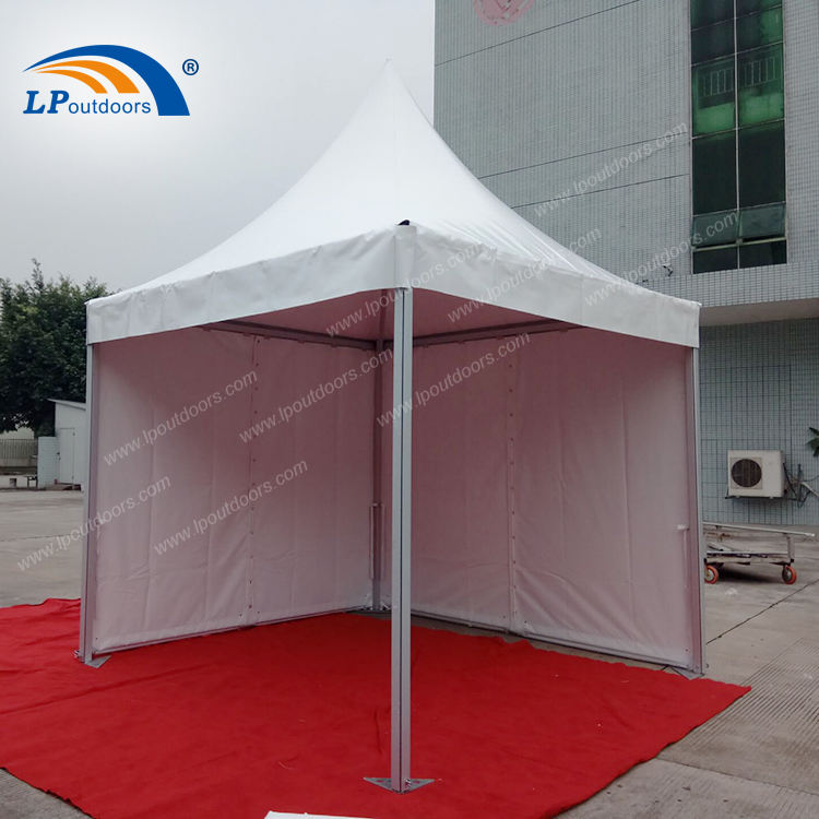 3x3m Outdoor pagoda pyramid tent for wedding or funeral rental events