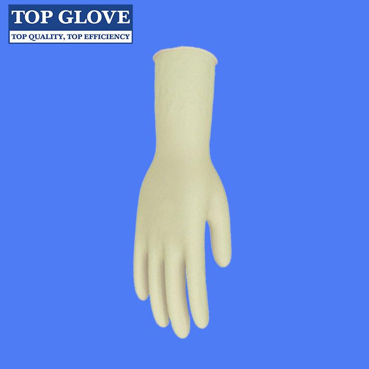 高品質使い捨て医療滅菌ラテックス手術用手袋粉末または粉末で送料