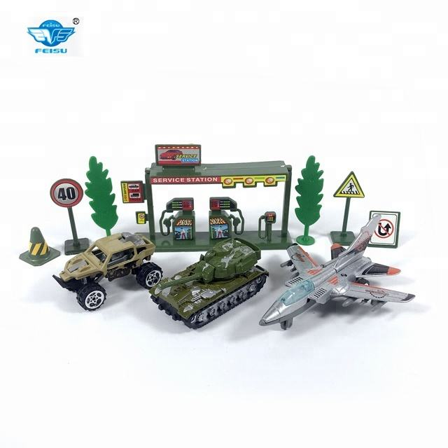 Cool military toy set metal car army toy for wholesale from China