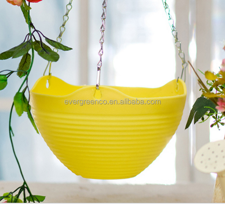 Hot Selling Cheap Hanging Plastic Flower Pot