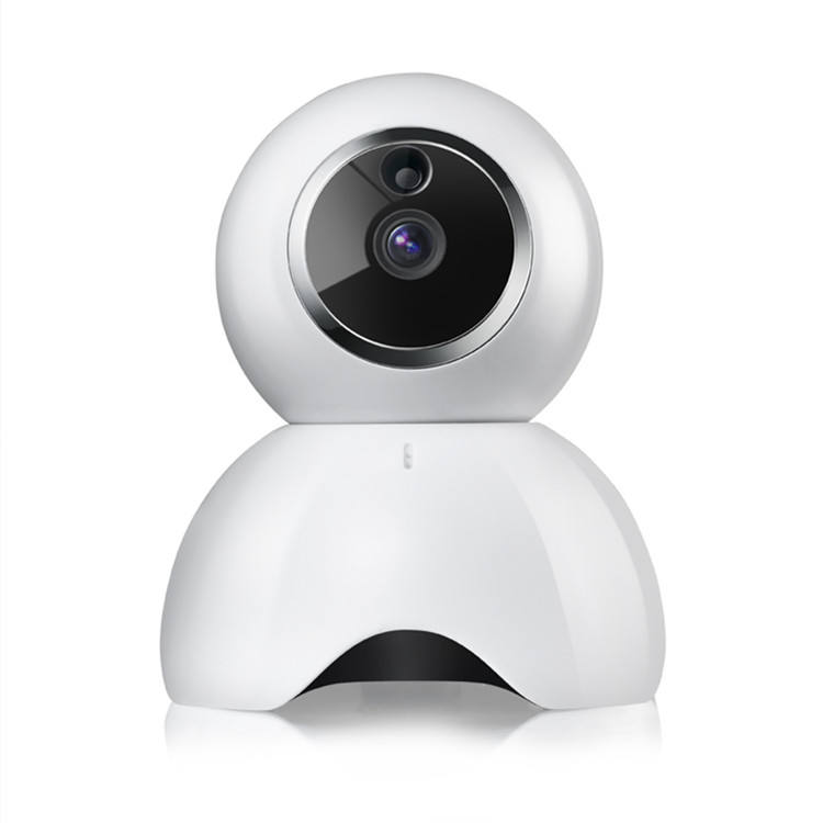 Best selling High quality Indoor Pan Tilt Zoom 720P P2P Wireless PTZ Wifi IP Camera With Memory Recording Black White