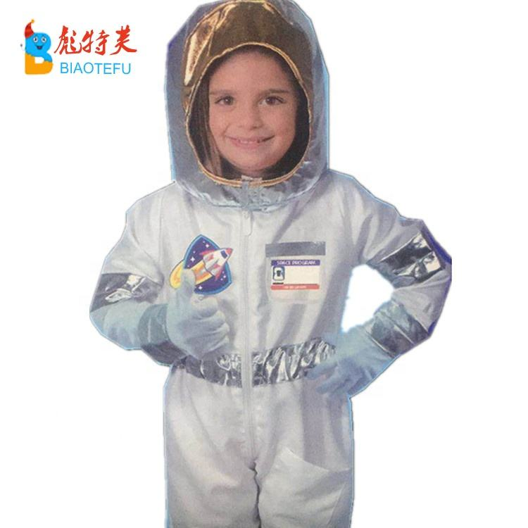 children white spaceman cosplay costumes for kids