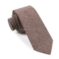 classic hot sale beautiful men neck ties brown