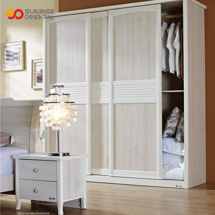 home furniture solid wood wardrobe space saving furniture