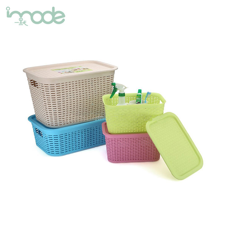 IMODE commercio all'ingrosso Eco-Friendly PP cestino di plastica
