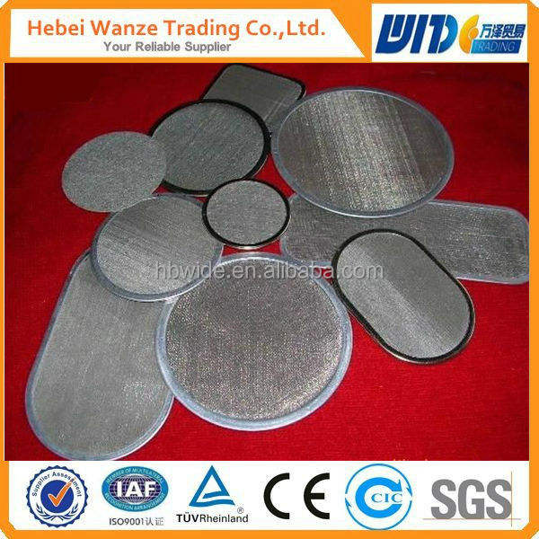 gas liquid filter screen&water filter screen&chemical etching filter screen mesh