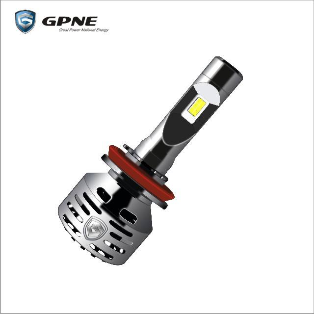 gpne led headlight for car Top-selling brightest 8000lm auto led h4 H7 H11 9005 9006 GPNE R3 car led headlight bulbs