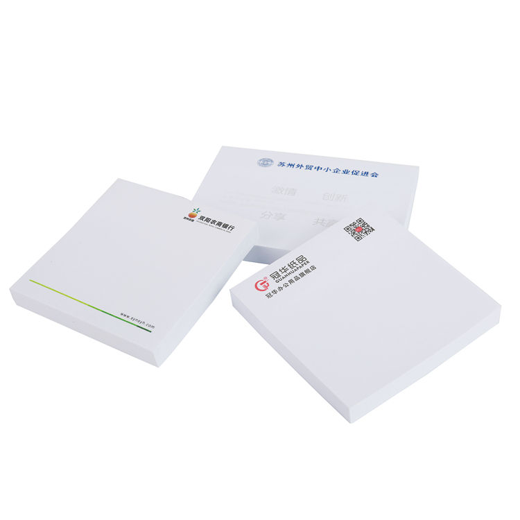 Professional sticky notes custom notepad note with logo