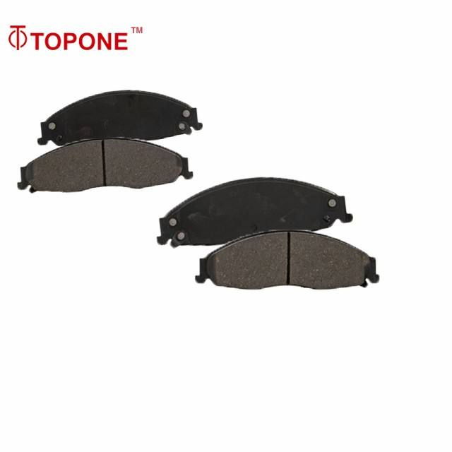 D921 Auto Parts The King Of Quantity Ceramic Brake Pad Long Life Disc Pad For CADILLAC STS GDB4601 24303