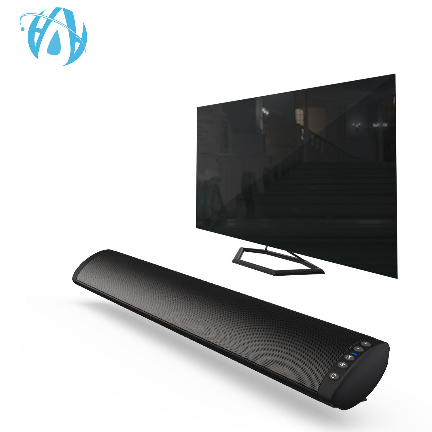 Optical RCA TV Soundbar Wireless FM Remote Control Home Theatre Deep Bass Surround Sound Bar
