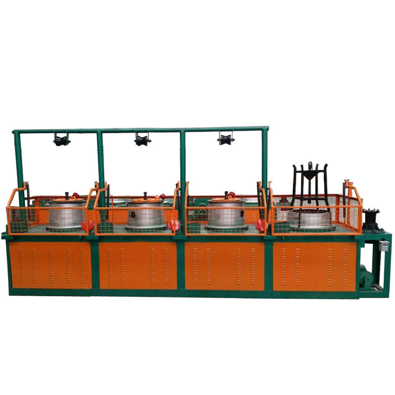 Factory From 6.5mm to 1.6mm low carbon steel wire drawing machine