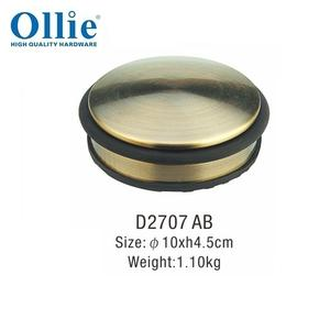 china supplier heavy duty stainless steel door stopper D2711 SS