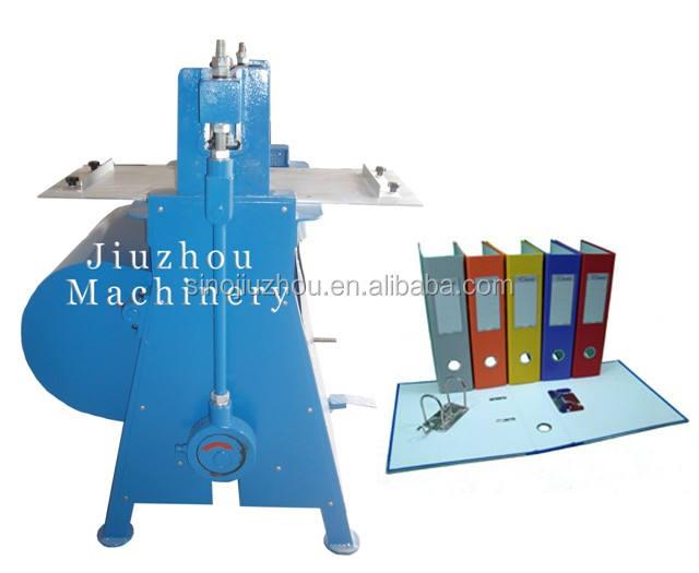 Papier fichier/à levier fichier rainage machine