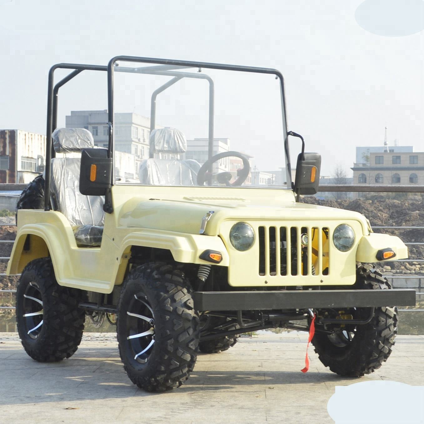 Alta qualità 4x4 200cc 250cc mini jeep willys