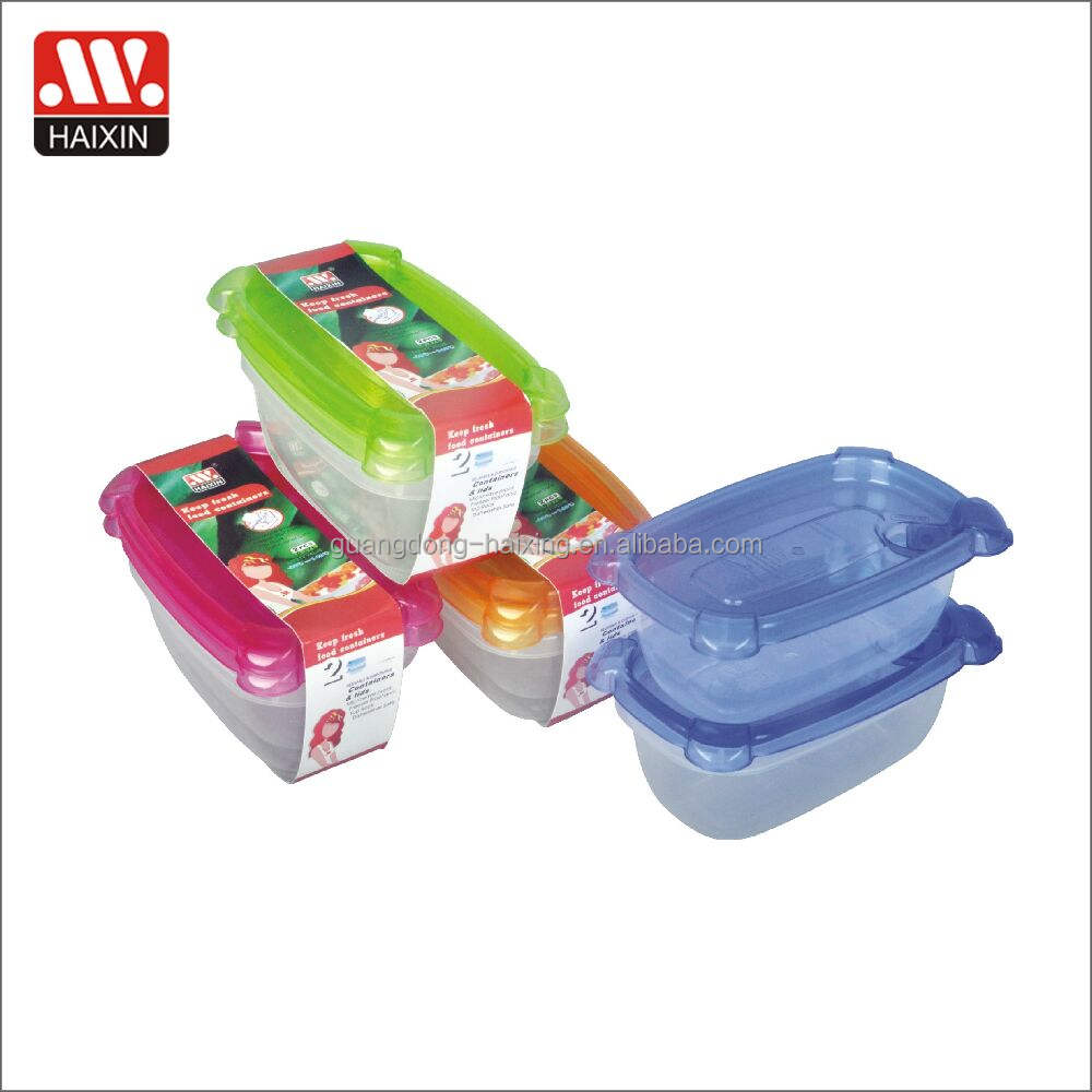 0.75L microwave food container ergonomic design food container plastic box for food