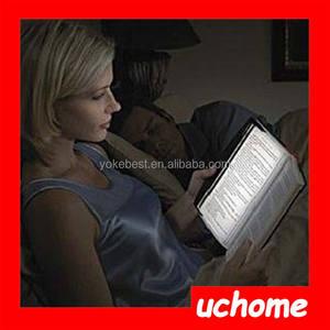 UCHOME Nuevo artículo del regalo 2016 dormitorio lámpara de lectura plana