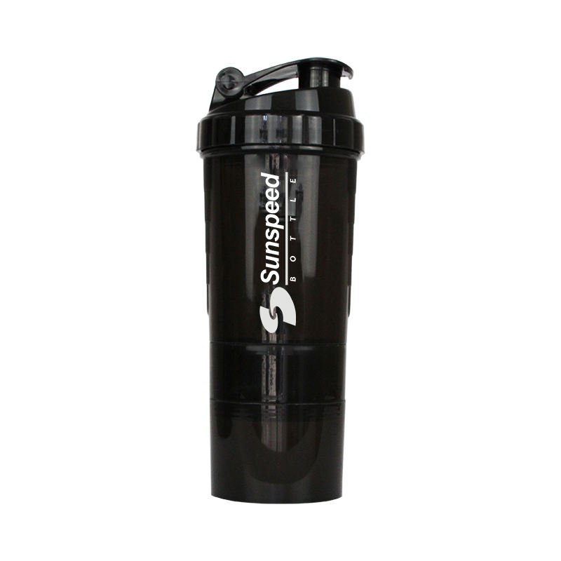 500ml BPA Free Sports Water Bottle Protein Shaker Custom Logo Printing for GYM
