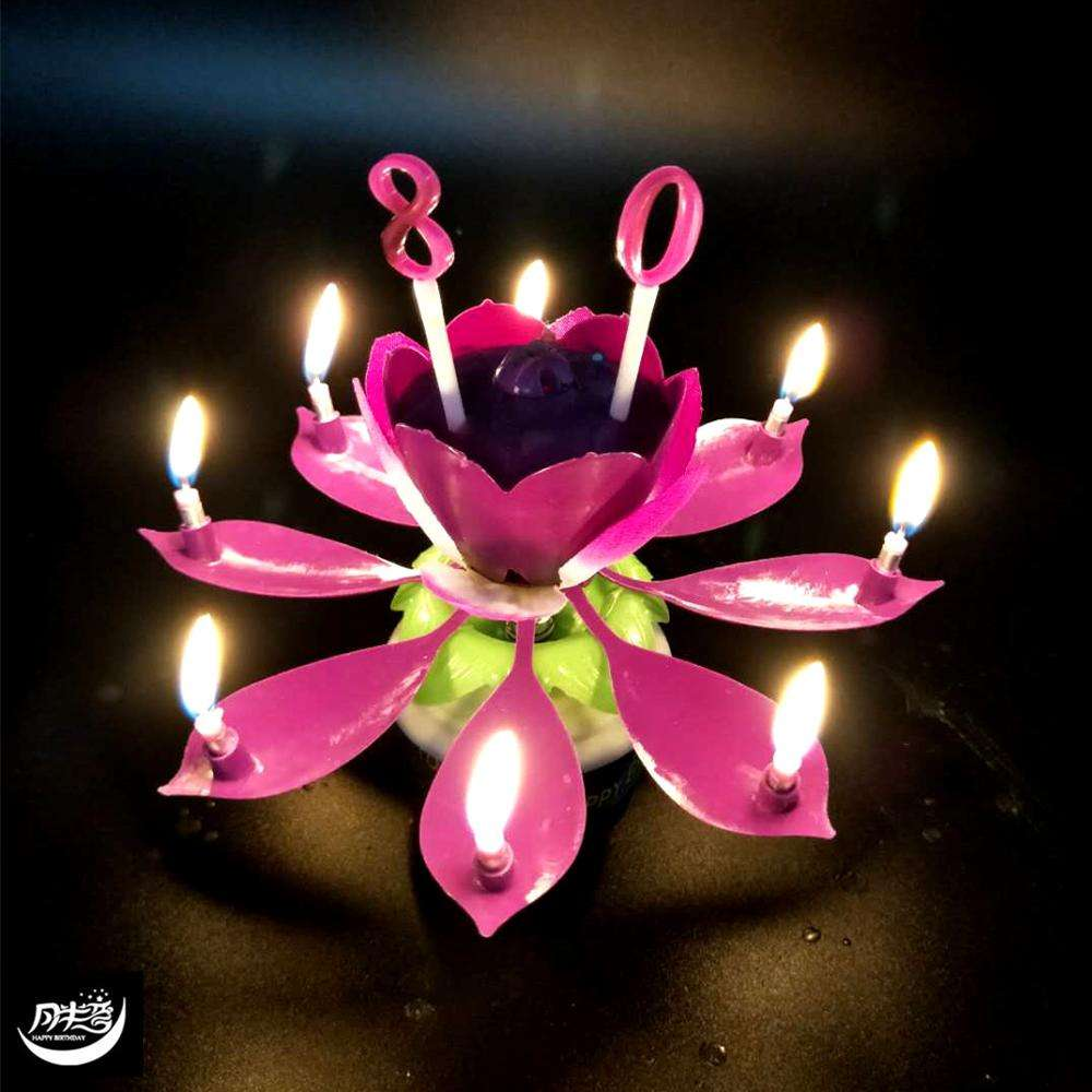 Sportball Trophy Birthday Candle 2 Pack  Amazing Lotus Flower Birthday Candle