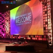 Church Public Backdrops LED Video Wall Panel Indoor P3.91 HD LED Display