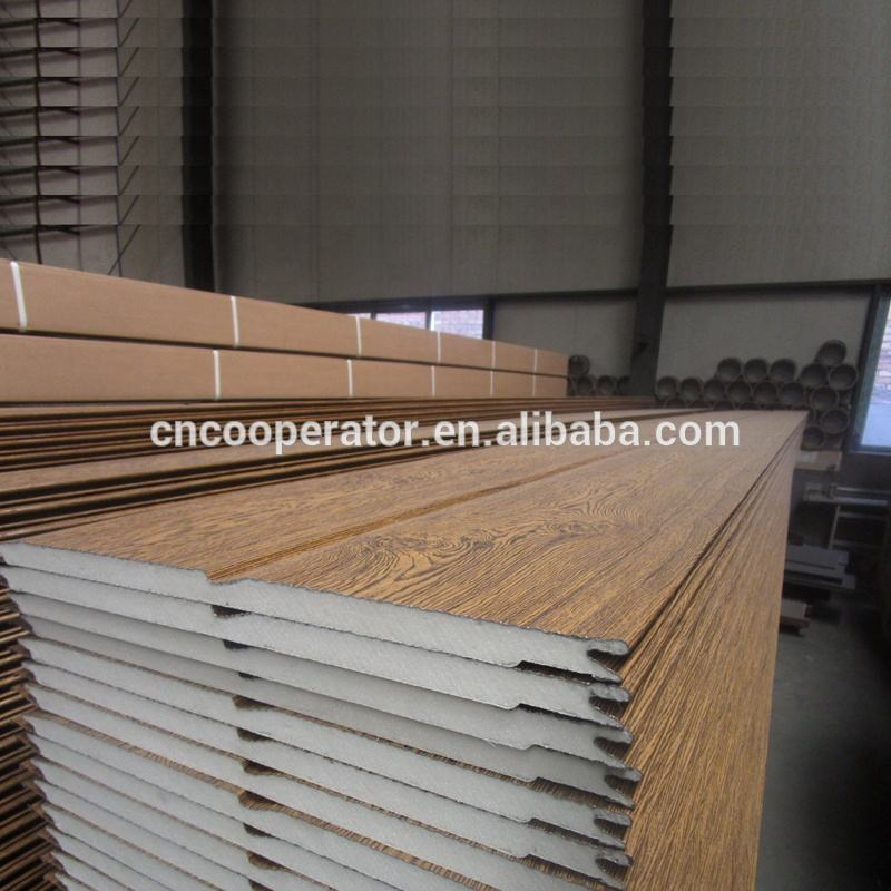 Wall cladding panel with thickness 16mm and 60mm
