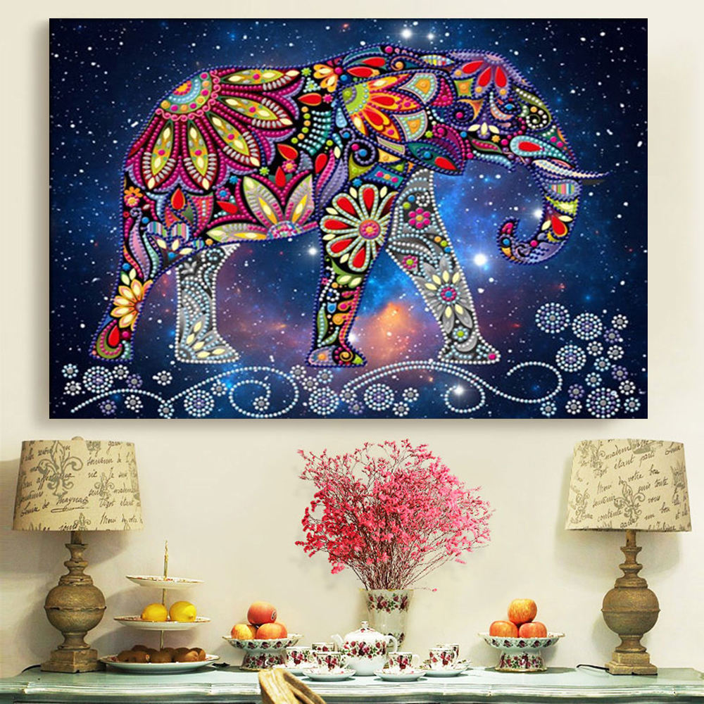 5D Diamond Painting Elephant DIY Diamond Painting