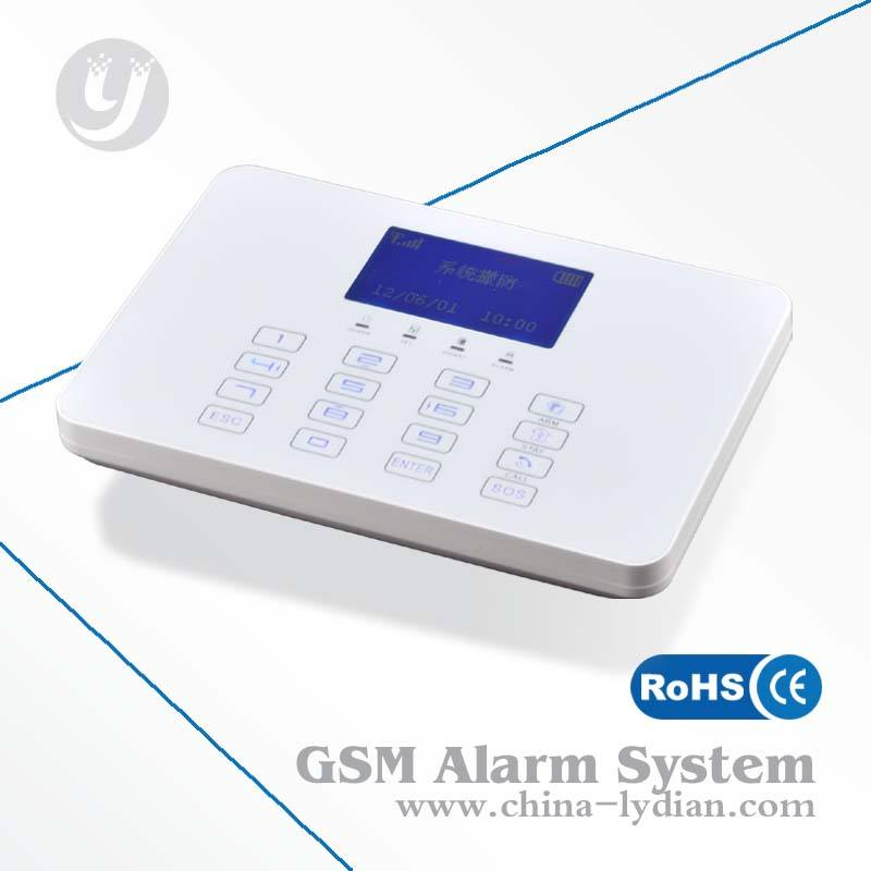 Autodialing inalámbrica gsm alarma antirrobo de bricolaje oem aceptado lyd-118