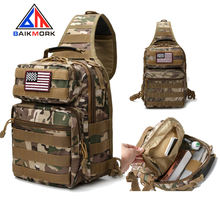 Military Tactical Sling Bag Shoulder Sling Backpack Molle Range Bag Everyday Carry Diaper Bag Day Pack