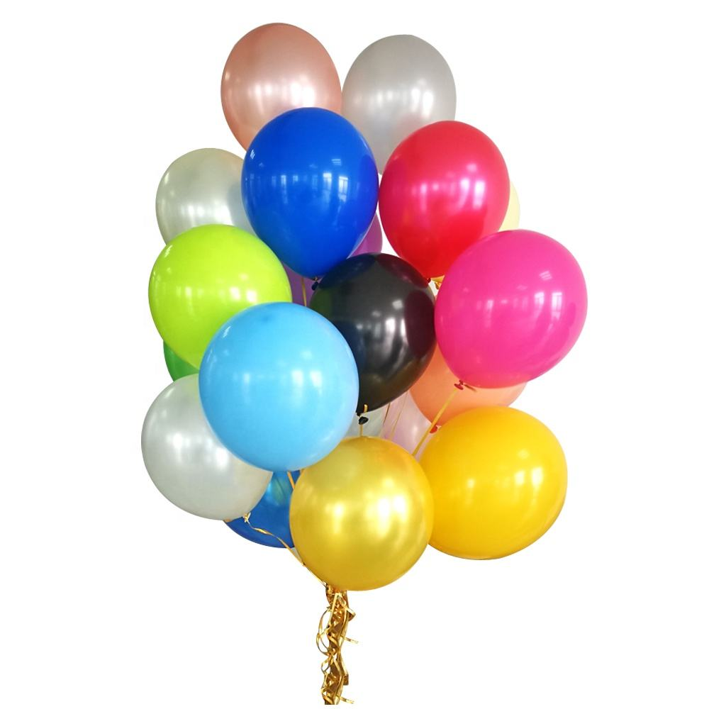 Wholesale Party Latex Helium Globos Happy Birthday Decoration Balloon Ballons