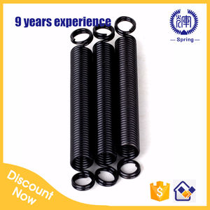 Made in China Zinc plated exercise extension springs for gymnastic equipment