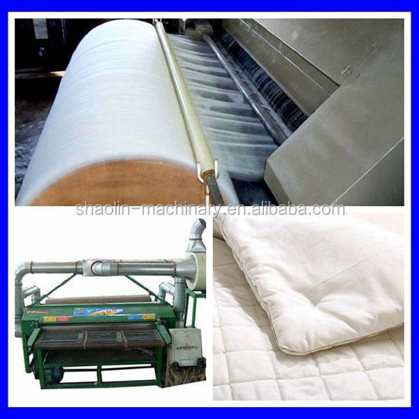 Easy operation quilt making equipment /cotton quilt making machine with best service