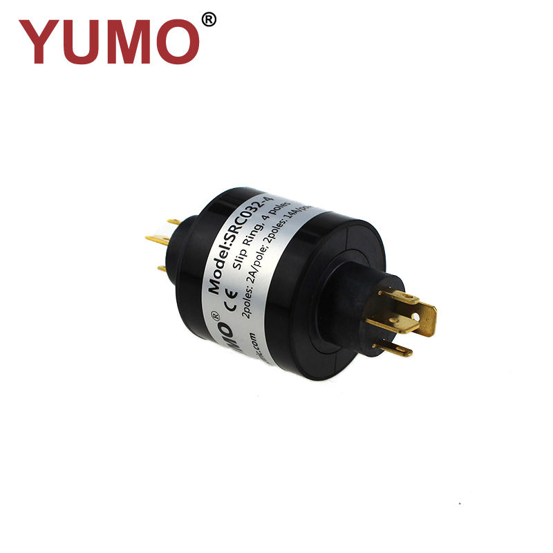 SRC032-4 32mm PIN type slip ring rotary joint electrical connector