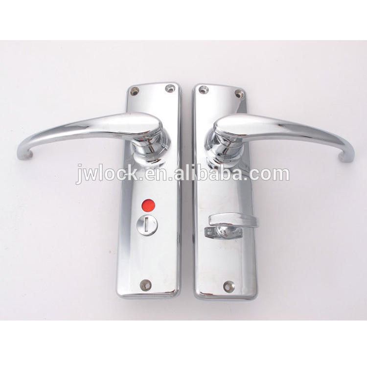 Wholesale Chrome plated Zinc alloy 682GOWER Toilet Door Lock