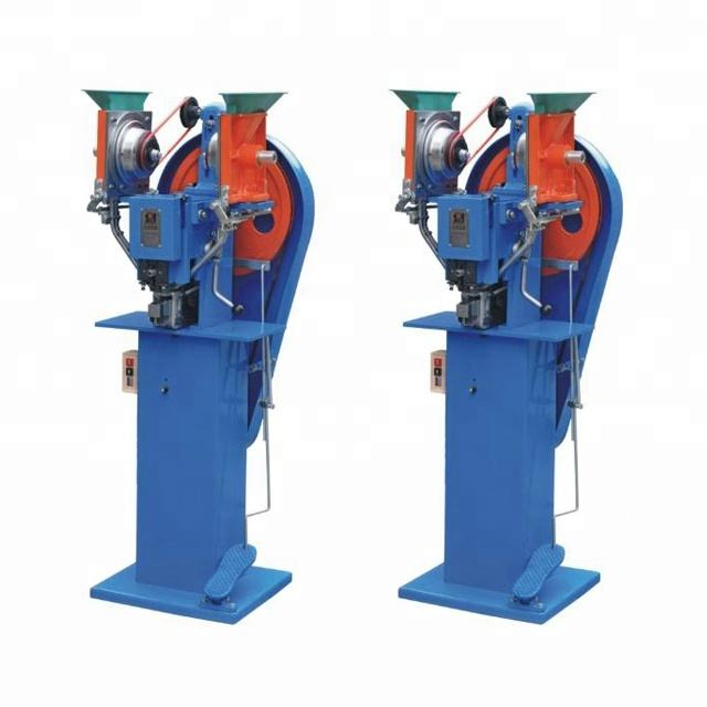 One Year Warranty Automatic Plastic Snap Button Riveting Machine for Non-woven Bags