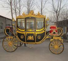 Royal carriage customized royal horse-drawn carriage/horse wagon for sale