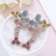 Luxury Colorful Flower Cubic Zirconia Fashion Design Gorgeous Temperament Jewelry